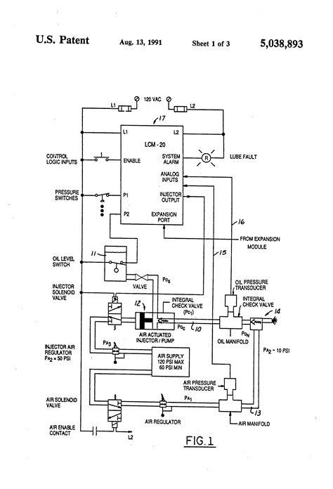 Patent US5038893 - Lubrication monitoring system - Google
