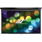 Elite Screens Manual Series M84UWH Projection Screen - Black
