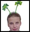 Shamrock Boppers Craft Crown for Kids