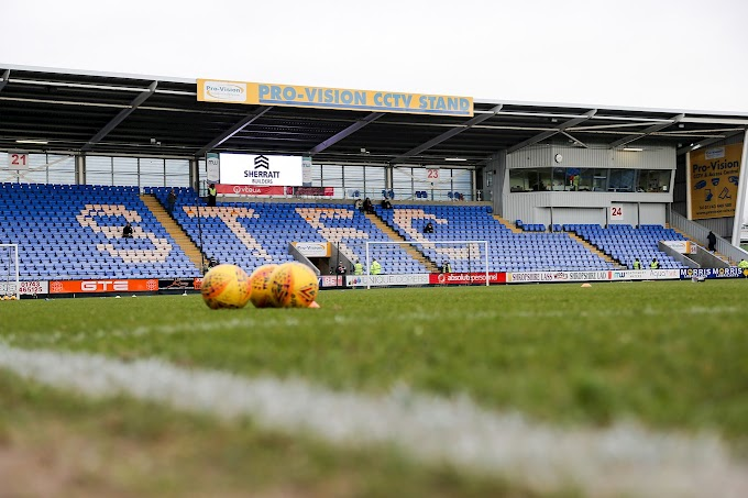 Shrewsbury Town (A): Saturday's Clash Nearing a Sell-Out
