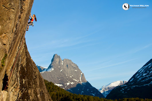 Rock Climbing in Norway - Rannveig Aamodt