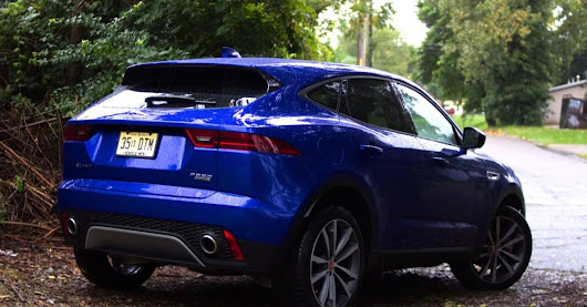 The 2018 Jaguar E-Pace is a small but luxurious compact cross-over