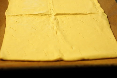 Dufour's puff pastry dough by Eve Fox, Garden of Eating blog, copyright 2012