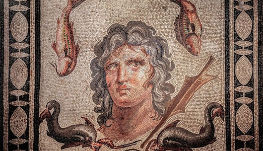 Greek Mythology-Depicting Mosaics Found At Perga, Turkey
