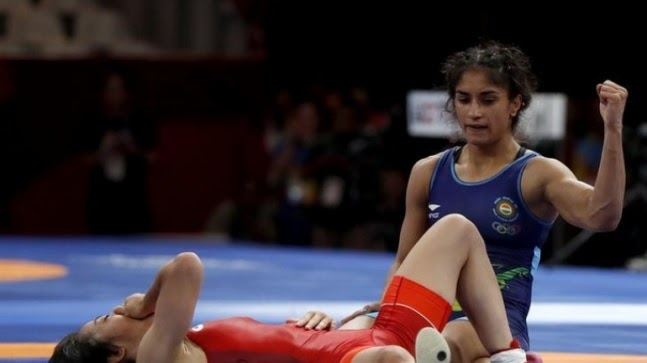 Vinesh Phogat reaches final at Ukraine wrestling tournament on competitive return after a year https://ift.tt/3kwSr2U