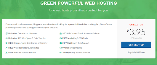 Everything You Need to Build & Manage Your Website for only $3.95/month!