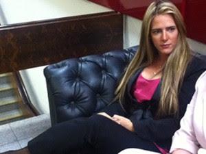 Denise Leitão, assessora de vídeo de sexo exonerada  (Foto: G1 Brasilia)
