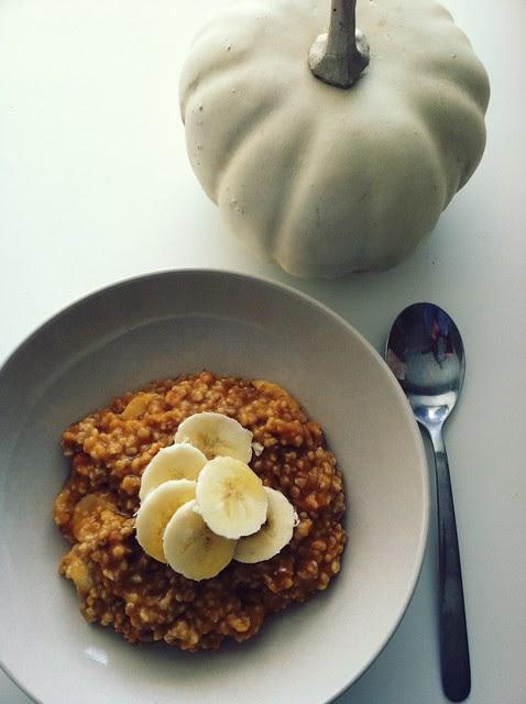 pumpkin oats