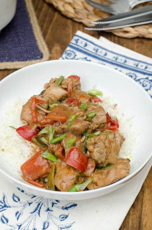 Slow-Cooker Caribbean Pork | From Valerie's Kitchen
