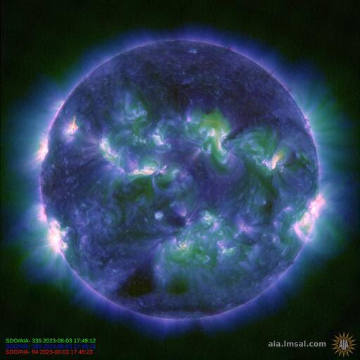 SDO Real Time Solar Image
