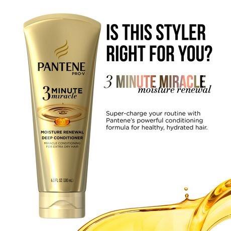 Pantene Moisture Renewal 3 Minute Miracle Deep Conditione Walmart Canada