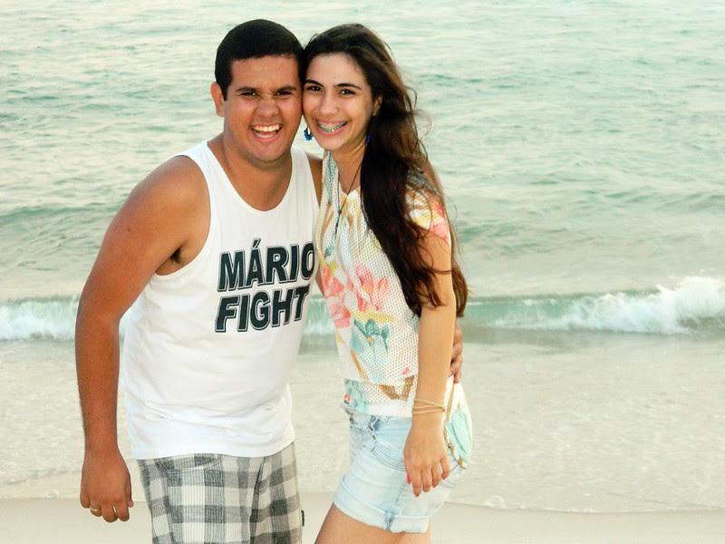 juliana leite make up praia look do dia jeans blusa floral verao 033