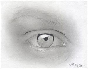 eye drawing tutorial