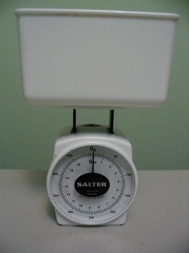 Salton Kitchen Scale