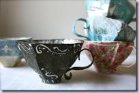 papiermache cups