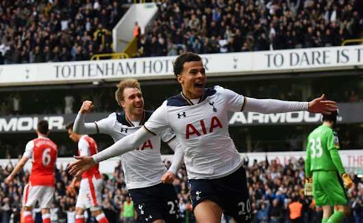 Alli and Kane earn Tottenham Hotsupr stirring derby win - World Soccer Talk