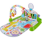 Fisher-Price FGG45 Deluxe Kick and Play Piano Gym Musical Development Playset by VM Express