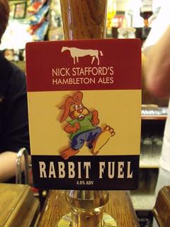 Nick Stafford's Hambleton Ales, Rabbit Fuel, England