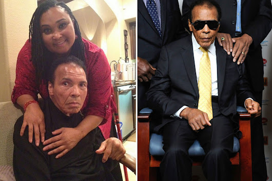 First picture of Muhammad Ali after boxing legend is released from hospital
