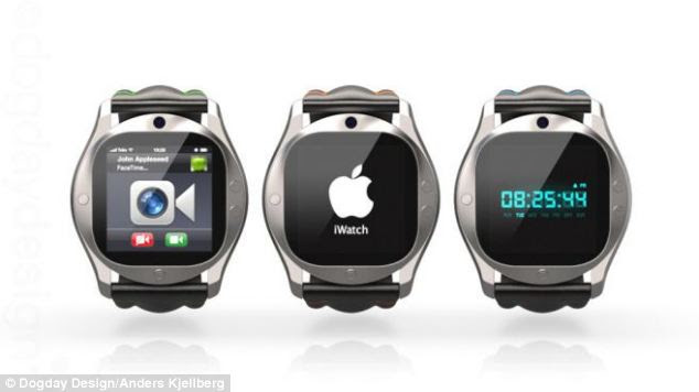 Swedish designer Anders Kjellberg's beautiful rendition of the iWatch could easily pass for the real thing from Apple