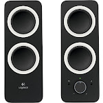 Logitech - Z200 2.0 Multimedia Speakers (2-Piece) - Black