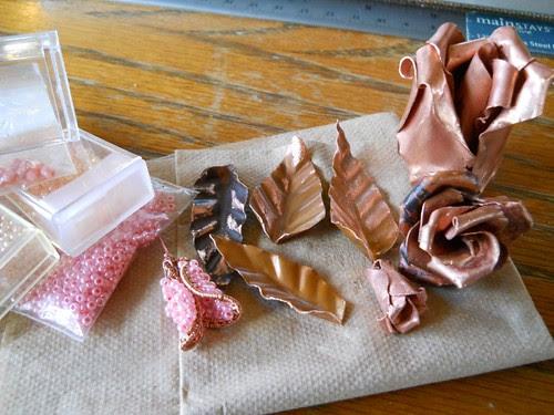 Copper Roses