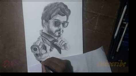 master drawing thalapathy vijay anirudh ravichander