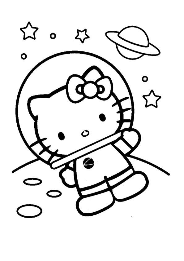 hello kitty-292 | Ausmalbilder Hello Kitty