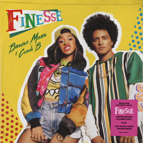 flavsdesigns: Bruno Mars – Finesse (Remix) [feat. Cardi…