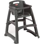 Rubbermaid FG781408BLA Restaurant High Chair
