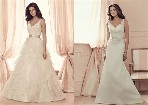 Buying A Wedding Gown For Your Body Shape: Apple   Paloma