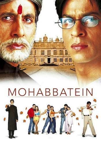 Mohabbatein 2000 Hindi 720p BRRip 1.6GB