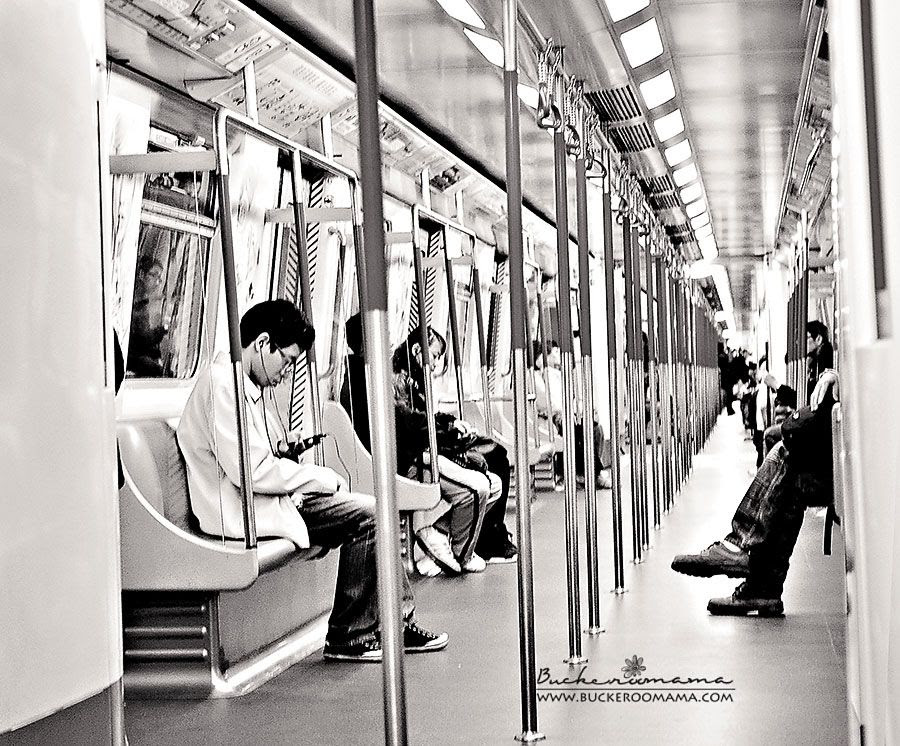 1.24, We took a ride on the subway.