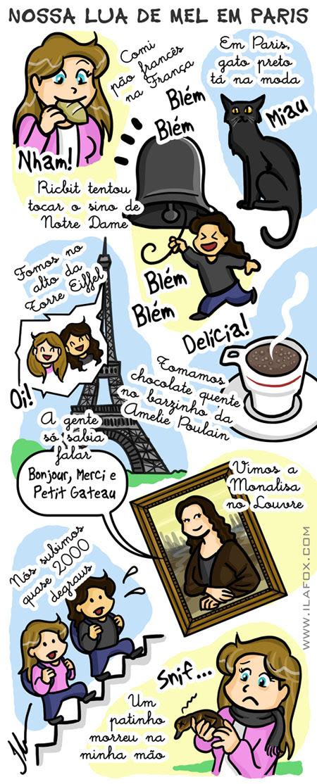 viagem lua de mel em paris, torre eiffel, notre dame, amelie poulain, louvre e pão francês, Paris em Maio, by ila fox