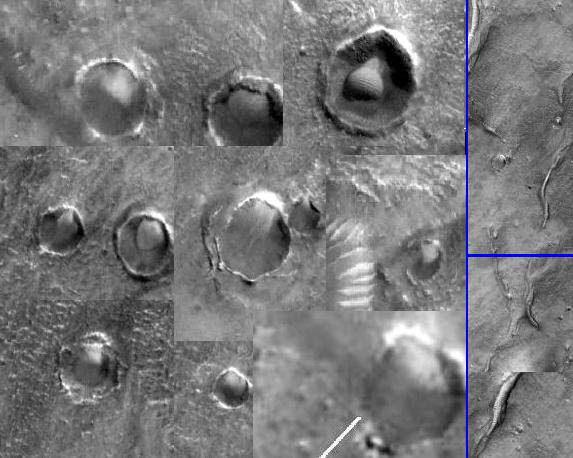 Κρατήρες στον Αρη 1