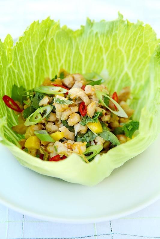 thai chicken with mango