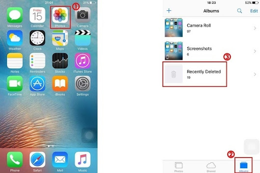How to Retrieve Deleted Camera Roll on iPhone iPad without/from Backup