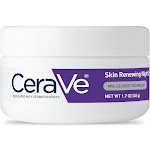 CeraVe Skin Renewing Night Cream to Soften Skin- 1.7oz