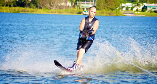 Ryan Riehl - Water Skiing
