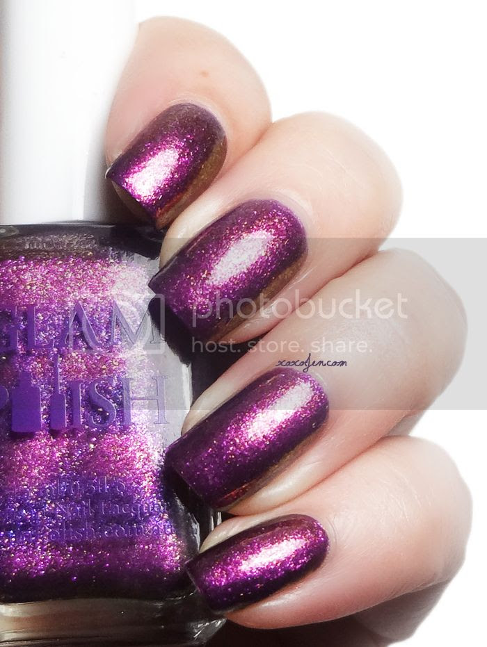 xoxoJen's swatch of Glam Polish Eye Of Sauron