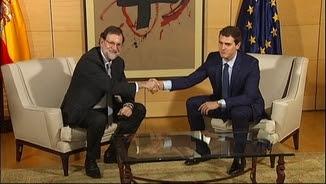 Mariano Rajoy i Albert Rivera, aquest dijous reunits al Congrés