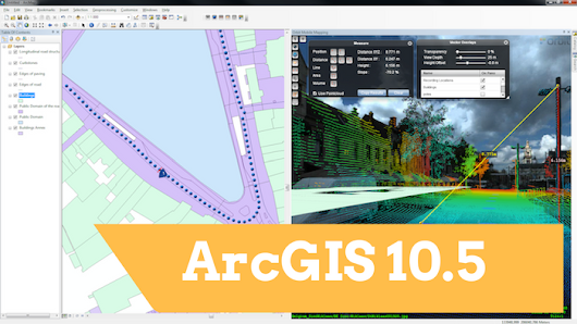 Download ArcGIS 10.5 recently released !!