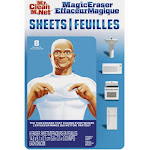 Mr Clean 90656 Magic Eraser Sheets, White, 8 Count