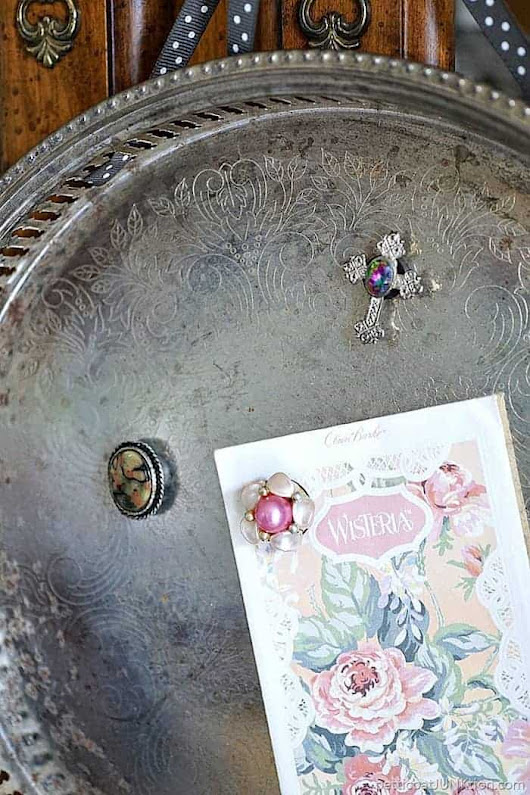 10 Minute DIY | Magnet Serving Tray-Petticoat Junktion