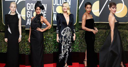 Golden Globes 2018: The Best of the Red Carpet