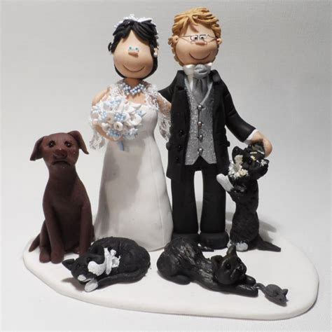 Personalised Wedding Cake Toppers & Cake Figures