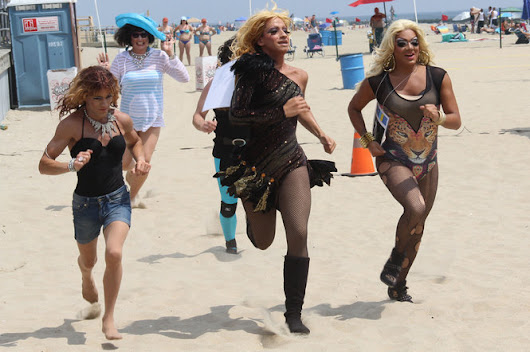 VIDEO: Gay community fills Asbury Park beaches for Sand Blast Weekend