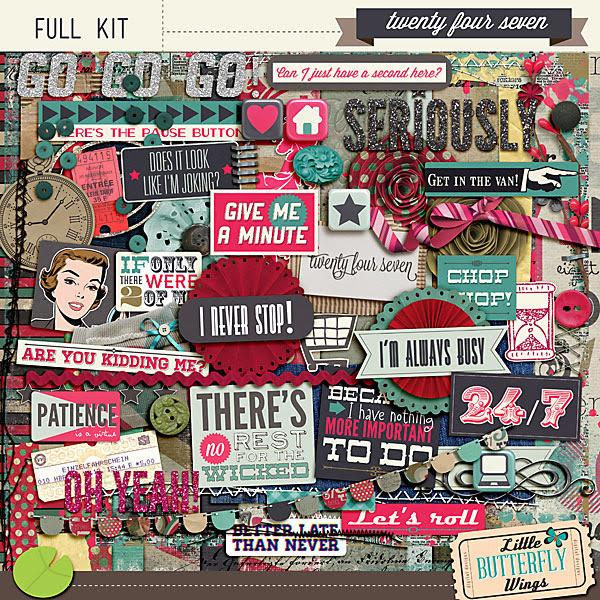 Twenty four Seven - Full Kit