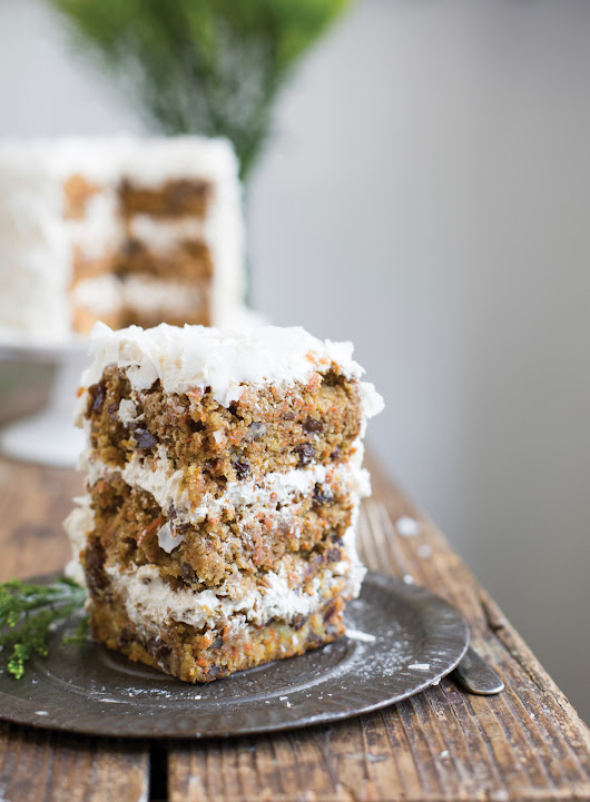 Paleo Maple Carrot Cake Recipe + My Paleo Patisserie Book Review!