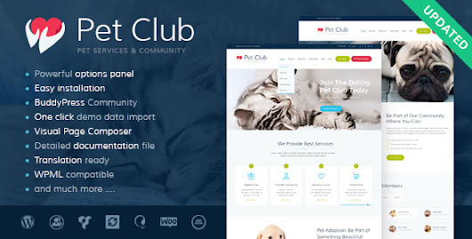 Download Pet Club - Services, Adoption, Dating &Community nulled | OXO-NULLED